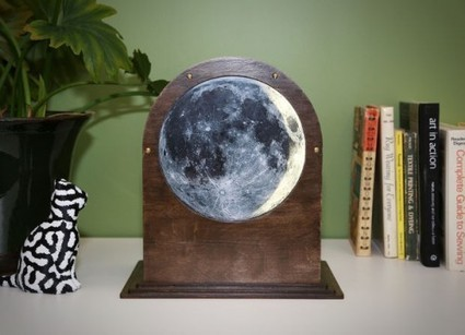 Lunar phase clock | Raspberry Pi | Scoop.it