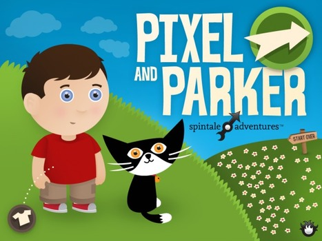Join Pixel and Parker in their 1st Spintale Adventure! | iPadApps | Scoop.it