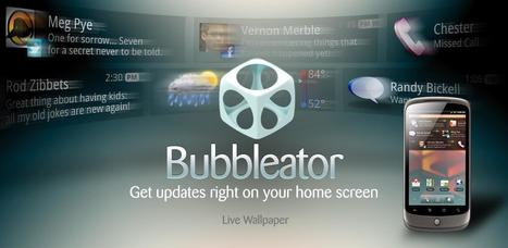 Bubbleator Live Wallpaper - Android Market | Education Technology - theory & practice | Scoop.it
