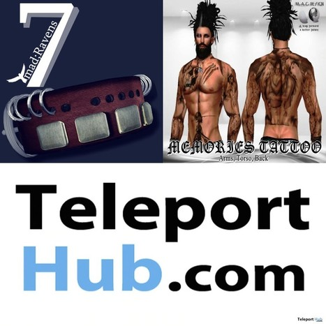 Round 1 May 2015 Group Gifts for Men at Cosmopolitan Sale Room | Teleport Hub - Second Life Freebies | Second Life Freebies | Scoop.it