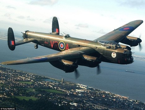 Incredible footage captured alongside legendary Lancaster bomber | 460 Squadron - Bomber Command: 1942-45 | Scoop.it