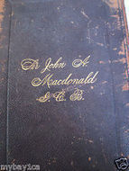Sir John A MacDonald Life Of The Right Hon 1891 Canada's Patriot Statesman | Sir John A... GENERAL STORIES | Scoop.it