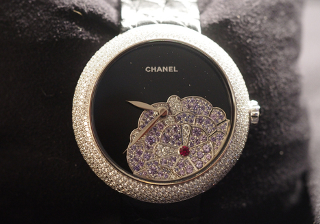 Haute Time's Ladies Watch of the Week: Chanel Mademoiselle Privé Camelia Origami | Chanel | Scoop.it