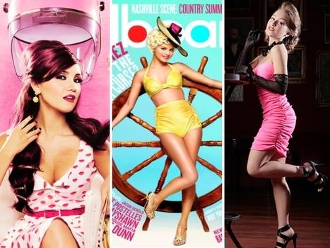 Selena Gomez posa de pin-up para revista - Jovem - R7   Garota Pin-Up   Scoop.it