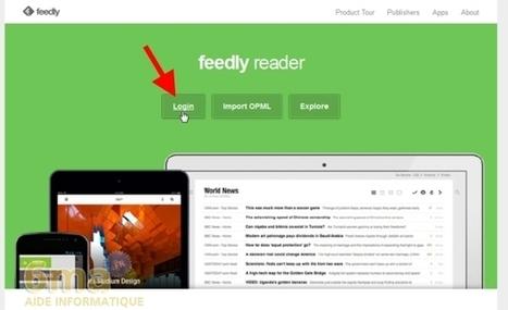 Comment utiliser Feedly pour lire ses flux RSS ? | E-apprentissage | Scoop.it