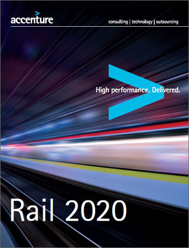 "Etude Accenture ""Rail 2020"" 