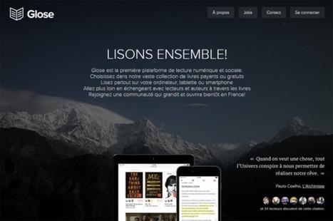 Glose, le réseau social de lecture, se lance en France | Infocom | Scoop.it