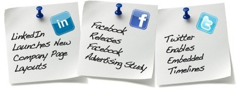 Social Media Updates You Need to Know - Business 2 Community | Sales & Relationship Management | Scoop.it