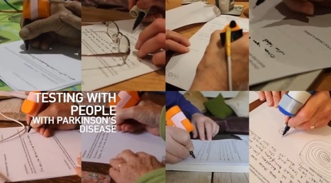 Special Pen Helps Parkinson's Patients Write Without Shaking [VIDEO] | #ALS AWARENESS #LouGehrigsDisease #PARKINSONS | Scoop.it