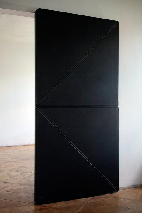 Ingenious door opens and closes like folded paper   my selection of news   Scoop.it