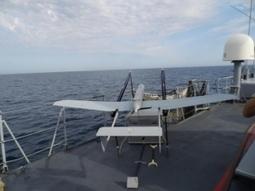 Un drone à voilure fixe sur un bâtiment de la Marine - Air&Cosmos | Infos Drones | Scoop.it