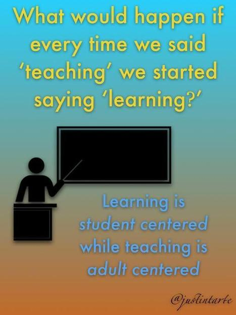 Tweet from @justintarte | Learning, Re-learning and Teaching in the 21st Century | Scoop.it