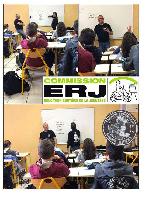 Intervention ERJ de la FFMC12 | Formations auprès des jeunes ERJ et stage moto AFDM | Scoop.it