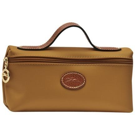 Sac Longchamp cosmétiques Camel The Folding Kit | sacslepliage | Scoop.it