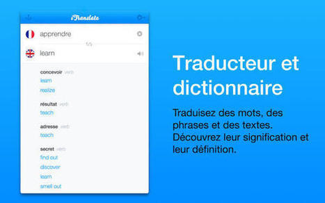 iTranslate maintenant disponible sur Mac - Apple Mind | Metaglossia: The Translation World | Scoop.it