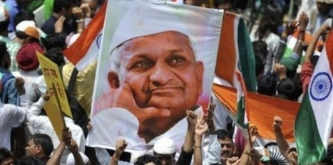 Anna Hazare, le Gandhi anti-corruption qui fait plier New Delhi | LYFtv - Lyon | Scoop.it