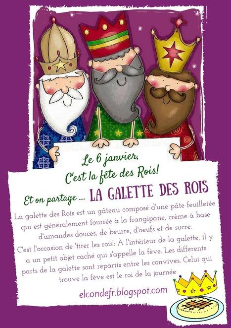 El Conde. fr: La galette des Rois | Education | Scoop.it