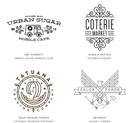 2014 Logo Trends on LogoLounge.com | Marketing, SMM, SEO | Scoop.it