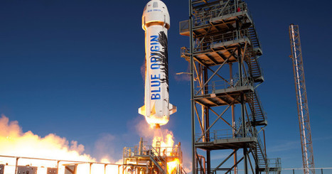 Blue Origin launches, lands the same rocket for the fourth time | The NewSpace Daily | Scoop.it
