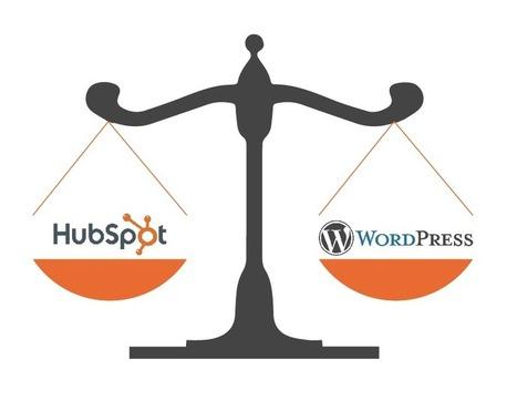 HubSpot vs. Wordpress - a CMS Comparison | Institut de l'Inbound Marketing | Scoop.it