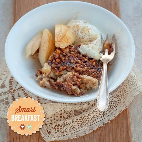 #Healthy #Recipe / supergolden bakes: Apple, pear and pecan breakfast oat bake | Health and well-being | Scoop.it