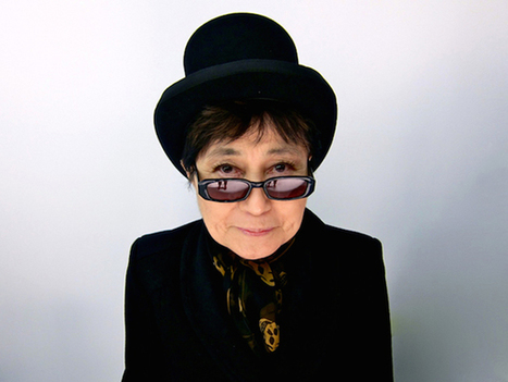 Yoko Ono to Attempt Record-Breaking Human Peace Sign Performance | Vloasis vlogging | Scoop.it