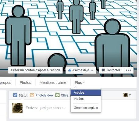 Et si votre page Facebook devenait votre nouveau blog ? | Social media, curation & webmarketing | Scoop.it