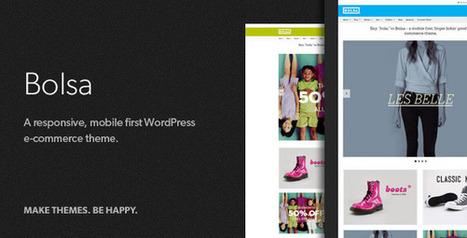 Bolsa – A Responsive WordPress E-commerce Theme (eCommerce) Download | eCommerce Templates Download | Scoop.it