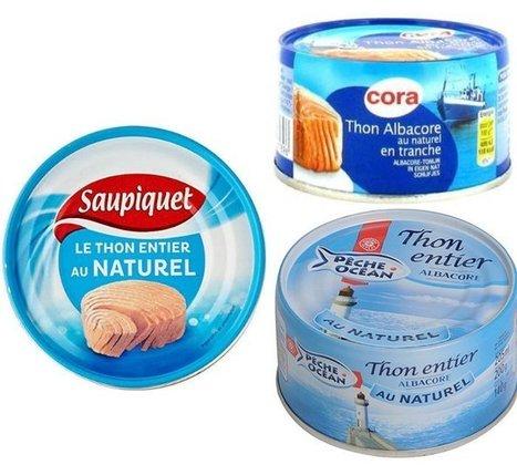 Selon 60 millions de consommateurs mieux vaut éviter ces boîtes de thon | Actualité Nutrition | Scoop.it