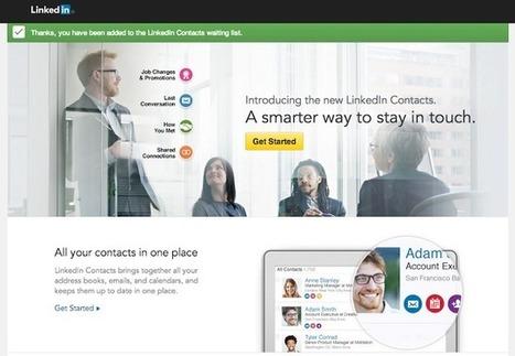 LinkedIn amplía la información de los contactos | Orientacion | Scoop.it