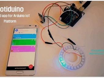 Notification IoT using Neo Pixel and Smartphone | Open Source Hardware News | Scoop.it