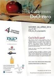 """Rassegna letteraria: """"DuO.Zero""""   DuO - dona un'opera   DuO - Dona un'Opera   Scoop.it"""
