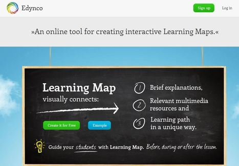 Edynco: An online tool for creating interactive Learning Maps | Educatief Internet | Scoop.it