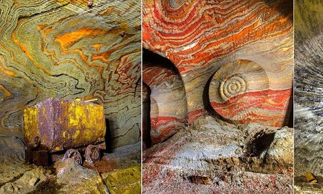 Abandoned Russian mines with naturally occurring mind-bending patterns | Notre planète pour tous | Scoop.it
