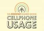 The Shocking Numbers Behind Cell Phone Usage | Infographics | Scoop.it
