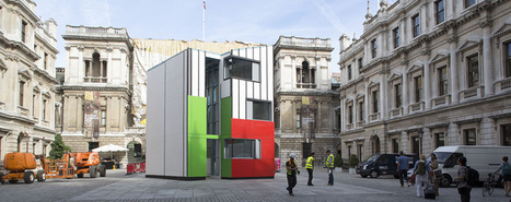 Watch a House Go From Flatbed to Fully Built in Less Than a Day: Richard Rogers Architect | Today's Modern Architects and Architecture | Scoop.it