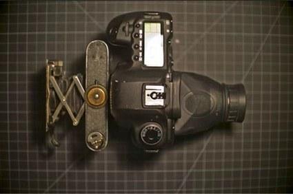 Un 5D Mark II mutant : alliance entre le numérique et l'argentique | Phototrend.fr | Scoop Photography | Scoop.it