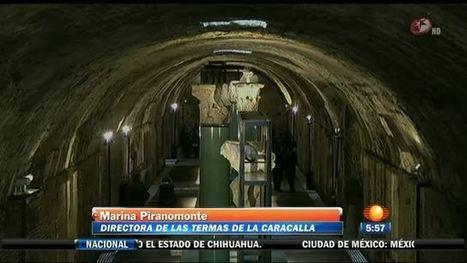 Subterráneos de Caracalla | Mundo Clásico | Scoop.it