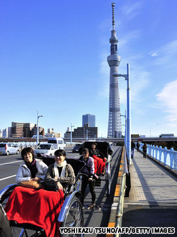 Tokyo Sky Tree construction ends: World's tallest tower prepares to open 22 Marche2012   Japon   Scoop.it
