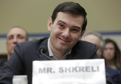 Martin Shkreli takes the Fifth before Congress | Business News & Finance | Scoop.it