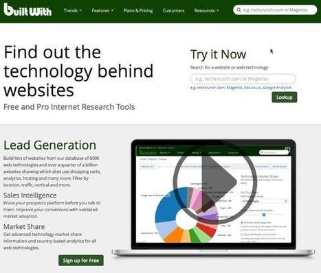 Herramientas para detectar el CMS, la plantilla y los plugins que utiliza una web   Links sobre Marketing, SEO y Social Media   Scoop.it