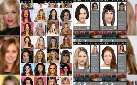 L'application du jour : Coiffure ultime essayage | Marché de la coiffure | Scoop.it