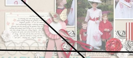 How to make a scrapbook page focal point with structure | digital scrapbooking | Scoop.it