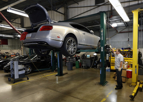 Luxury cars get round-trip repair | Automotive Customer Experience Excellence | Scoop.it