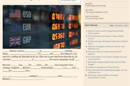 The Financial Times Decides to Get Creative With Ad-Blocker Blocking | Multimedia Journalism | Scoop.it