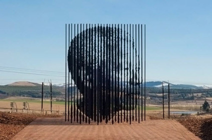 L'impressionnante sculpture de Nelson Mandela | Arts et FLE | Scoop.it