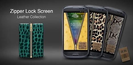 Zipper Lock Leather Collection - Applications Android sur GooglePlay   Android Apps   Scoop.it
