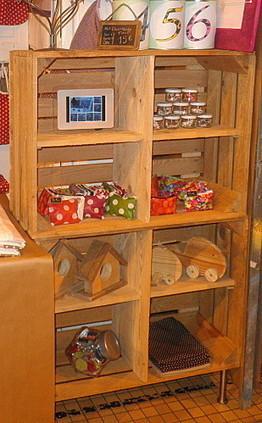 39 meuble cuisine en caisse a pomme 39 in caisses et palettes for Meuble en caisse de pomme