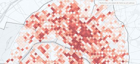 Choisissez où boire un verre en terrasse à Paris avec notre carte interactive | Dat@Viz | Scoop.it