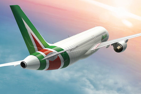 Alitalia gets a makeover | Agency: Landor | Corporate Identity | Scoop.it